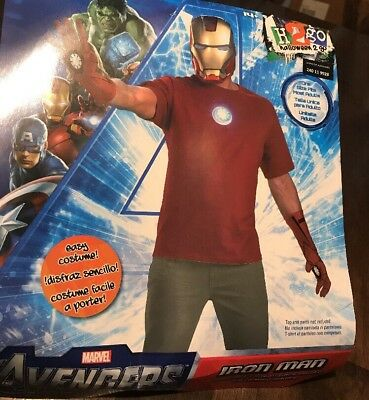 Iron Man Easy Costume Adult - Adult Ironman Costume