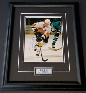 Pavel Bure Autographed Vancouver Canucks 8x10 Framed