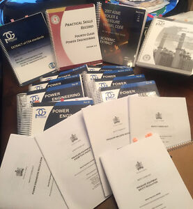 4th Class Power Engineering Textbooks