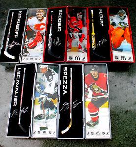 Revised Mcdonalds NHL Hockey Star sticks