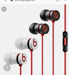 UR beats by dre earbuds ( Headphones )