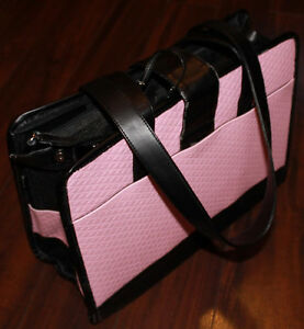 Pink Purse Style Pet Carrier