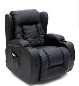 Electric recliner heat and massage Armchair free local delivery