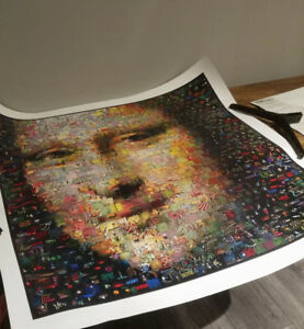 2005 Mona Lisa by Neil J Farkas Art –Picture, Print, Painting