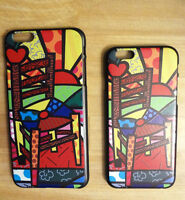 """iPhone 6 (4.7"""") & Plus Abstract Print Hard Back Cover Case.."""
