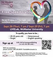 Free Speed Dating Event
