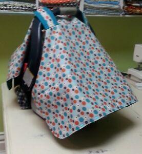 car seat cover, bib and burp pad sets Cambridge Kitchener Area image 2