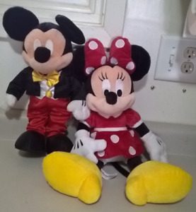 Mickey & Minnie  Mouse Plush Toy
