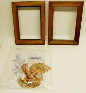 Punch Embroidery Design Kits with Wooden Frames, 2 of