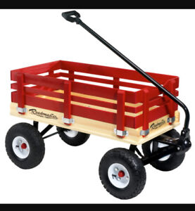 WOODEN RAIL WAGON FOR SALE