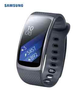 Samsung Gear Fit2 GPS Smartwatch with Heart Rate Monitor - Large