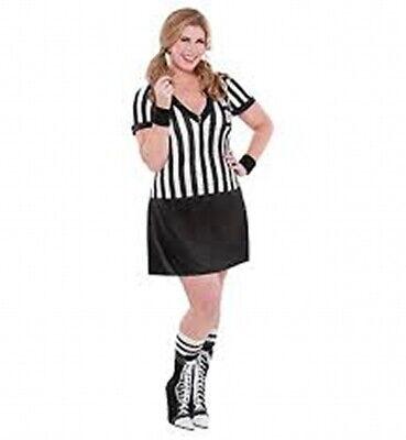 Nicely Played Sexy Sports Referee Umpire Women's Halloween Costume Plus18-20 NIP](Umpire Costume Halloween)