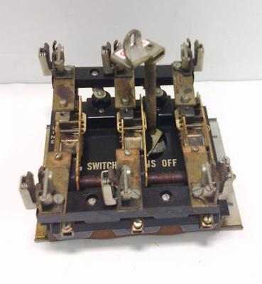 Trumbull Electric 3 Pole Switch