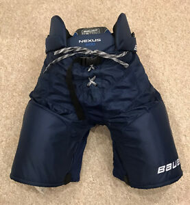 Bauer Nexus 600 Navy Senior XL Hockey Pants St. John's Newfoundland image 1