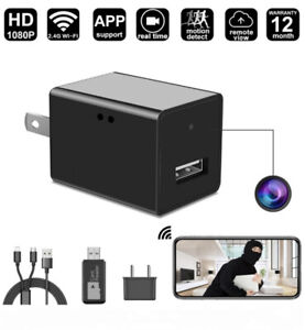 Wireless Hidden 1080P Spy Camera USB Adapter with Motion Detect