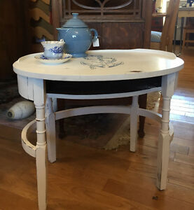 Nautical theme side table