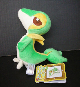 "Pokemon ""Snivy"" Japanese Canvas Plush"