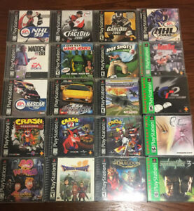 PS1 Games and PS3 Games