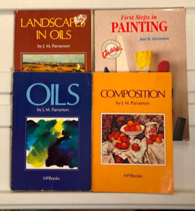 Lot of 4 artist books, softcover