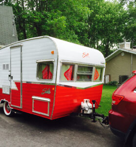2016 Special Anniversary Edition Shasta Airflyte Trailer Red