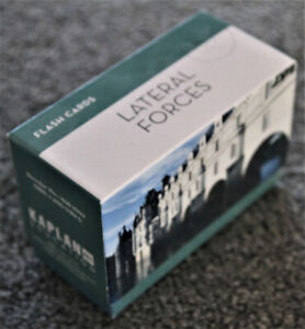 Selling Kaplan's AEC Education Flash Cards for Lateral Forces