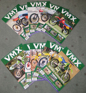 Classic DirtBike and VMX magazines Back issues