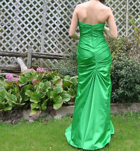 Prom dress- emerald green, mermaid style for sale! NEGOTIABLE West Island Greater Montréal image 3