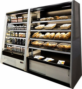 Pastry Gelato Cheese Meat Displays & Open Coolers - brand new