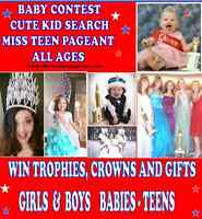 NATURAL PAGEANT - ALL AGES - BUILD CONFIDENCE  (SUDBURY)