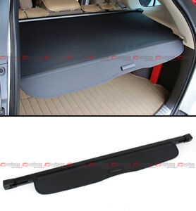 For 2012-16 Honda CR-V CRV OE Style Retractable Cargo Cover Luggage Shade- Black