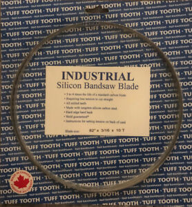 """Band saw blade 82"""" x 3/16 x 10T - Brand New"""