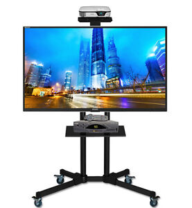 Universal Mobile TV Cart TV Stand with Mount for 40 - 65 inch LE