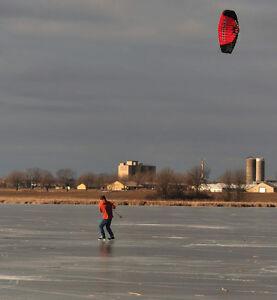 Snow kite - Snowboard and Ski in Kingston!  For Free!! Kingston Kingston Area image 6