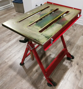 Folding Working Table Welding Table