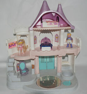 Château de princesses vintage de Fisher Price