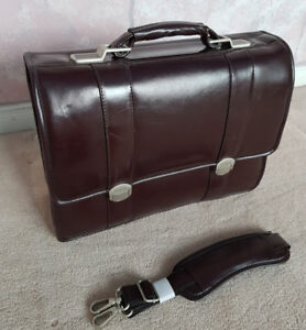 Leather Laptop Bag - McKlein - Original $200