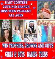 NATURAL PAGEANT - ALL AGES - BUILD CONFIDENCE AND HAVE FUN!