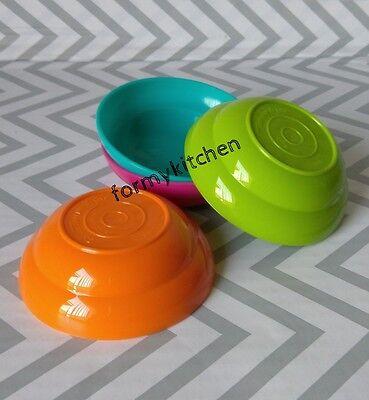 Tupperware  Mini Toy Kids Mini Bowl Set  New!!!