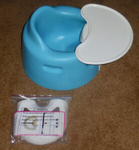 Bumbo Seat with Safety Strap and Tray