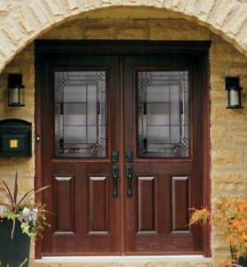 ENTRY DOOR GLASS INSERTS /// FREE INSTALLATION