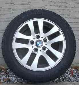 BMW 3 series winter tires and wheels