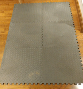 48 sqft. Interlocking Floor Mats Exercise/Gym/Home