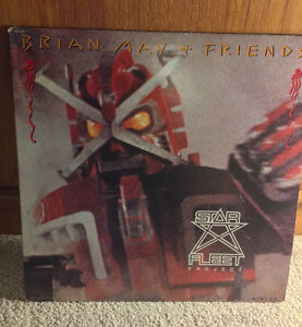 Collectible Eddie Van Halen Side Project  EP LP Vinyl Brian May