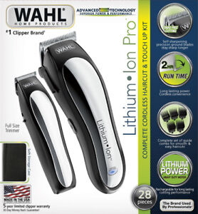 Wahl Lithium Ion Pro Cordless Clipper - new!