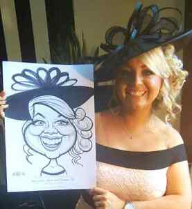 the wedding Art caricature  West Island Greater Montréal image 9