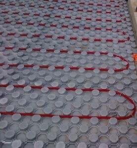 In Floor Heating Insulated Panels