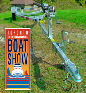 NEW 2017 Boat Trailer holds 1300lbs+TWO-YEAR WARRANTY Peterborough Peterborough Area image 1