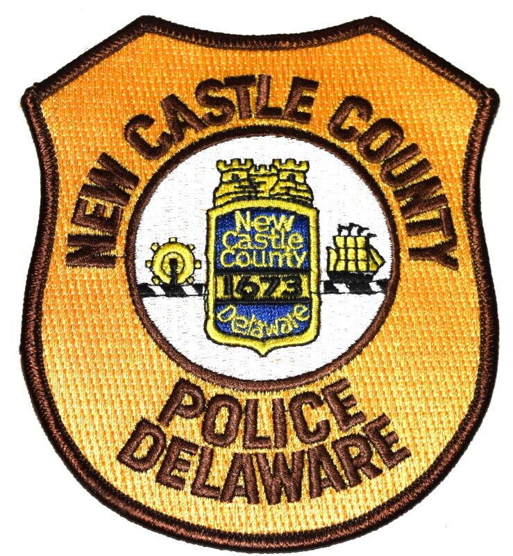 NEW CASTLE COUNTY DELAWARE DE Sheriff Police Patch