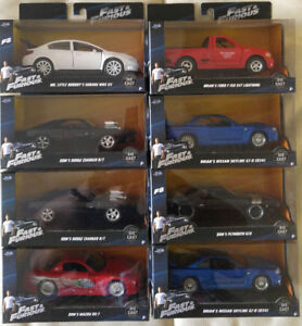 Jada Die Cast Collector series Fast and Furious series