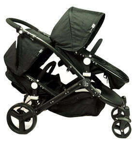 ELLE BABY 2 IN 1 DOUBLE STROLLER (NEW IN BOX) –NEWBORN TO 3 YRS